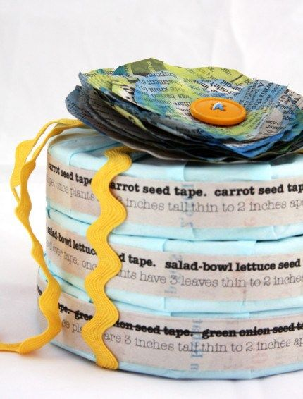 DIY_seed_tape.jpg Great rainy day project to do with kids, plus it ...
