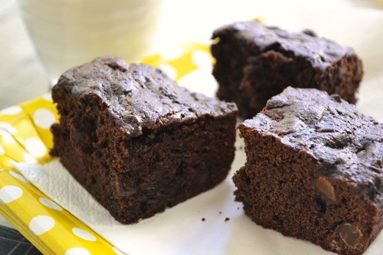 ... Cookies.. so must be even better in Chocolate Chip Zucchini Brownies