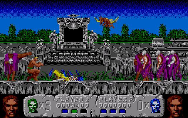 Altered Beast, Amiga 500, 1988