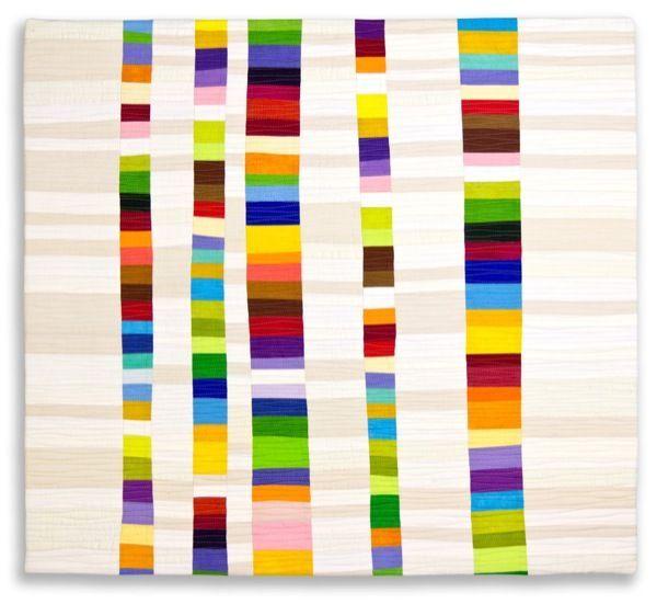 "Vibrant Stacks - 22""x 28"" - Diane Melms"