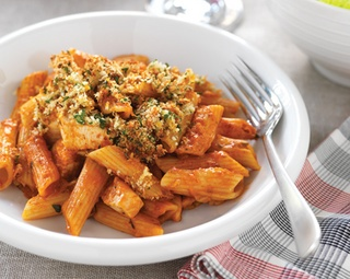 Chicken, Tomato and Parmesan Pasta Bake | food | Pinterest