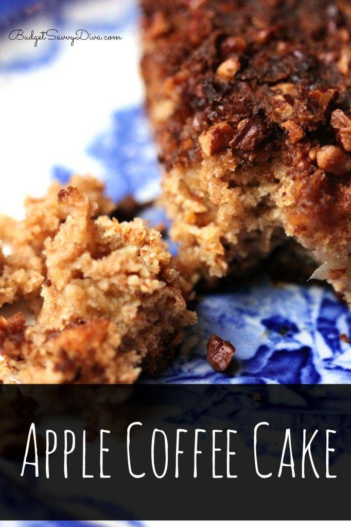 ... Apple Coffee Cake Recipe #coffeecake #recipe #breakfast #