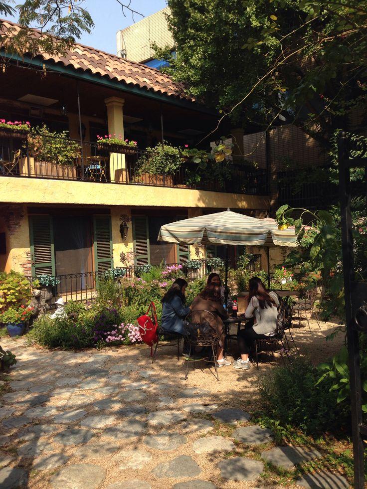 Garden cafe cafe decor pinterest for Garden cafe designs