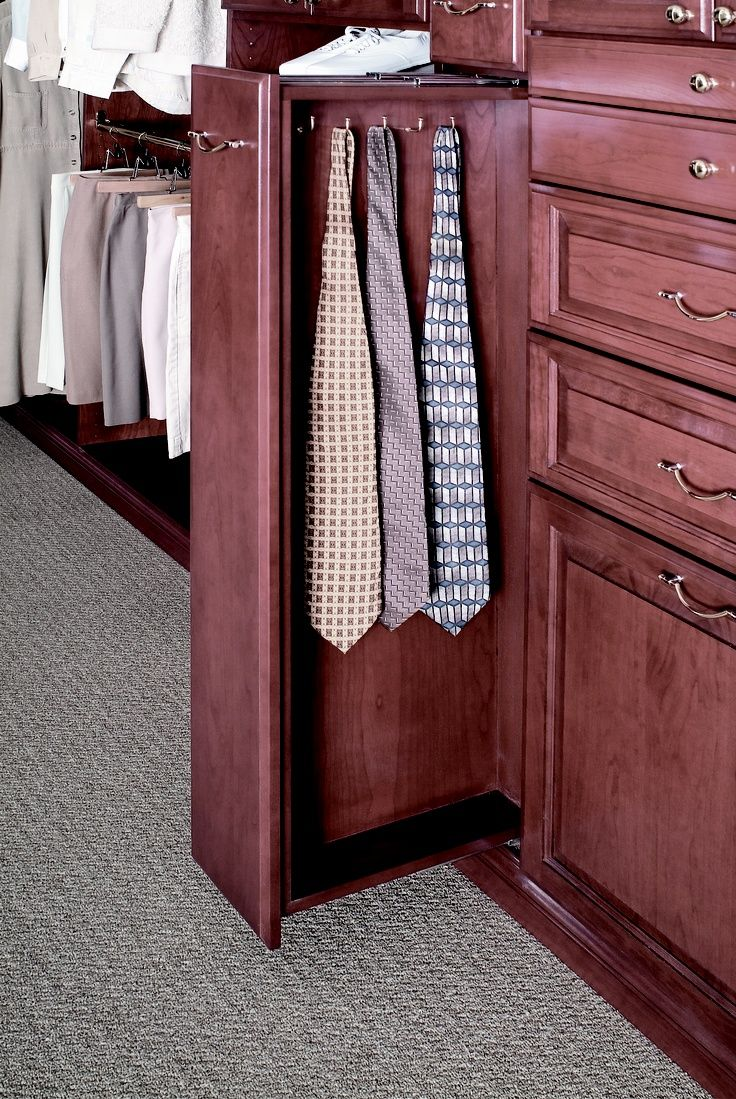 Tie organization home decoration pinterest for Closets by design chicago