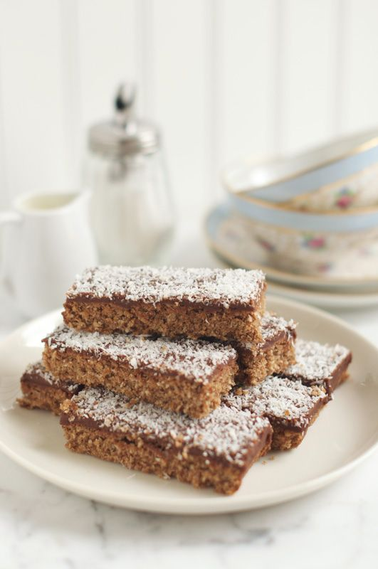 Chocolate Coconut Bars, for the trip down memory lane, every ...