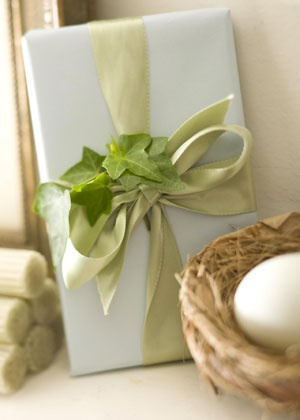 fresh gift-wrapping