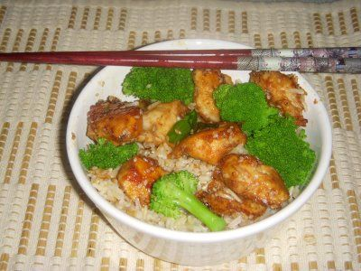 Lighter Sesame Chicken « from We are not Martha