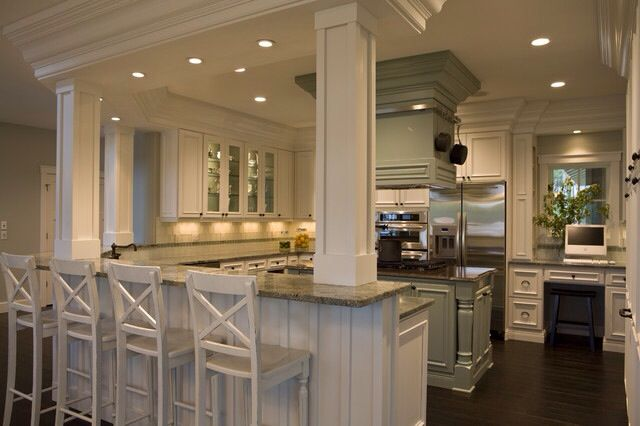 Combining Kitchen And Dining Room For The Home Pinterest
