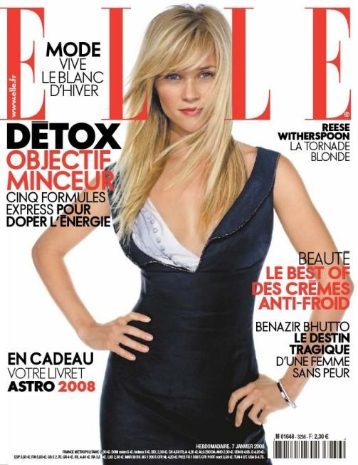 Reese Witherspoon - 2008 | Elle France Covers | Pinterest Reese Witherspoon