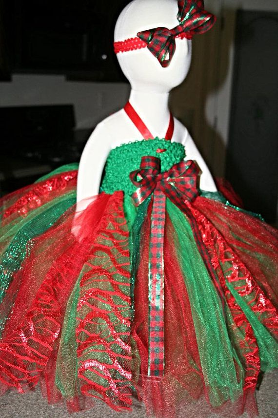 Christmas tutu dress by adalynsboutique on etsy 45 00