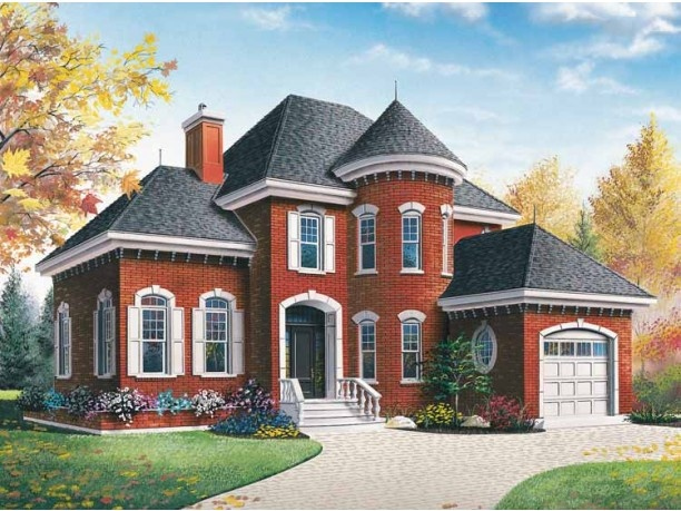 Small Chateau House Plan Ideas Pinterest