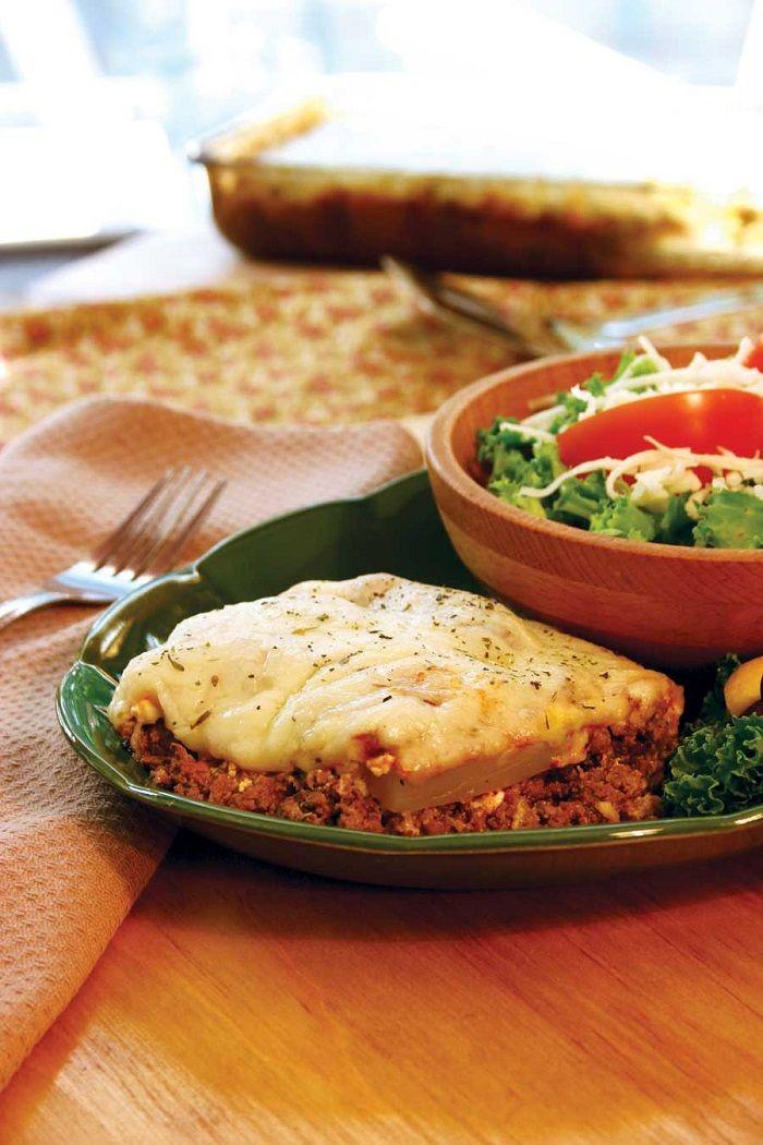 Zucchini Lasagna | food | Pinterest