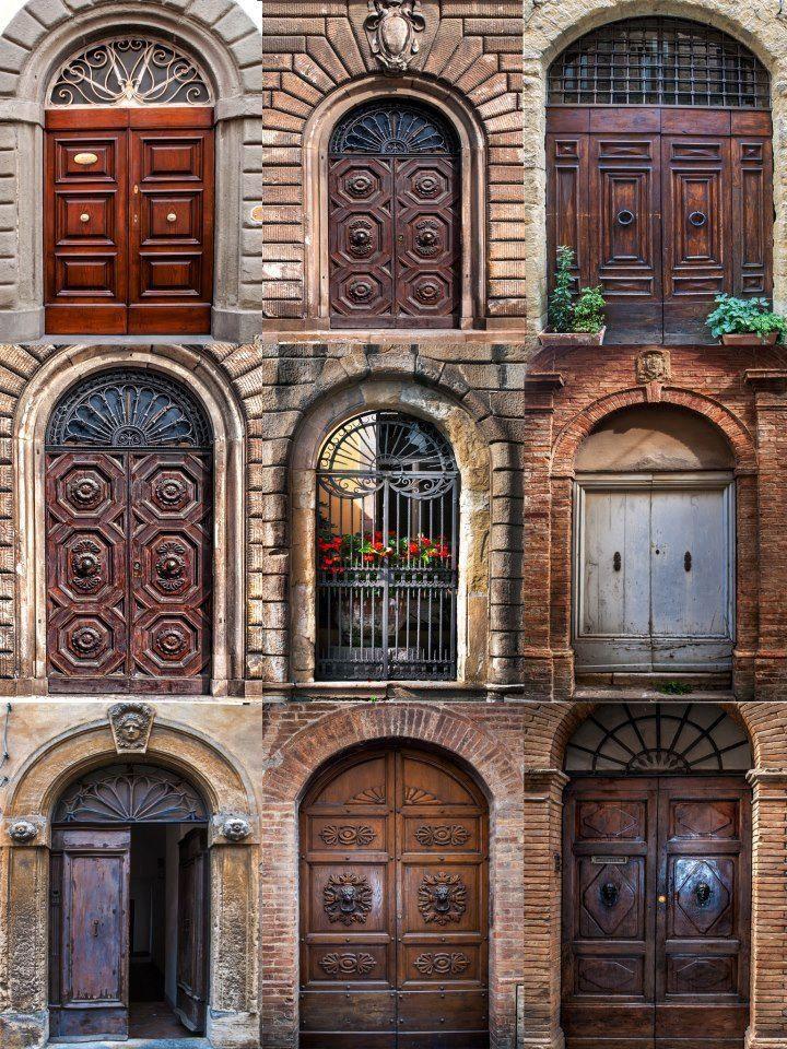 Tuscan Doors Print Pinterest