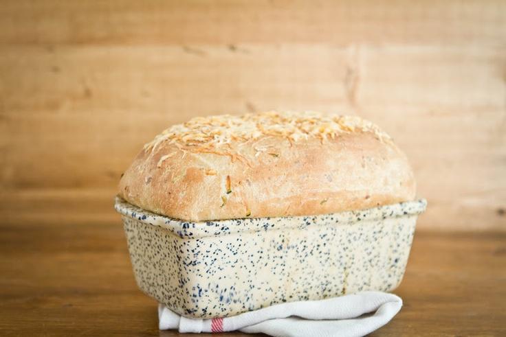 Zucchini Cheddar (yeast) Bread - instant yeast, sugar, wheat flour ...
