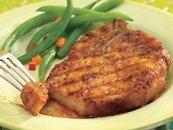 honey-maple grilled pork chops | Food | Pinterest