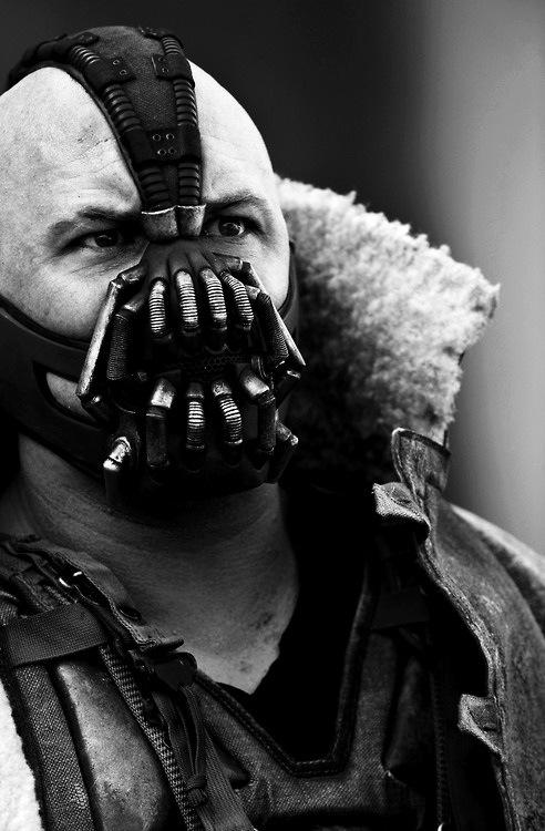 Tom Hardy as Bane. | B...