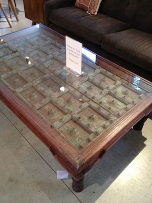 Coffee Table Made Out Of An Old Door Barn And Odd Pinterest