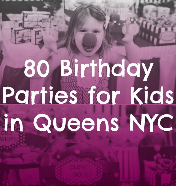 kids queens party places birthday