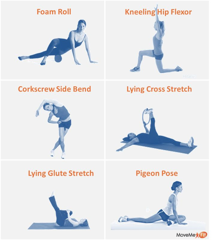 hip flexor pressure healing exercises