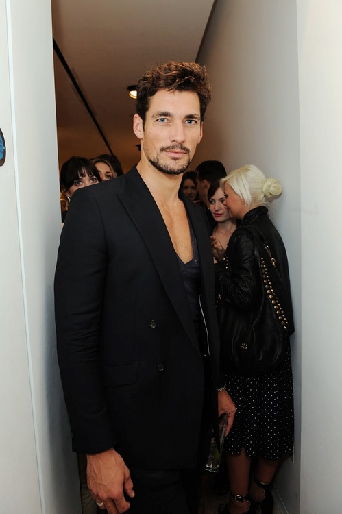 Looking good in all black, Mr. Gandy.