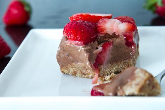 No-Bake Chocolate Coconut Ice Cream Torte (via @Angela Liddon) # ...