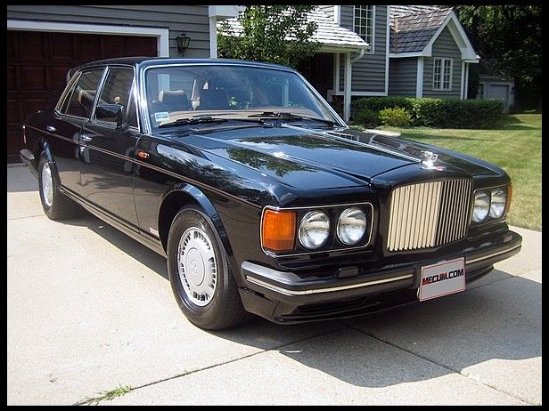 1989 bentley turbo r 6 75l automatic for sale by mecum auction