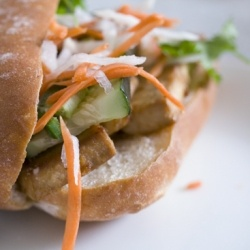 Vegetarian Banh Mi - lemongrass tofu : ) | Food Fun | Pinterest