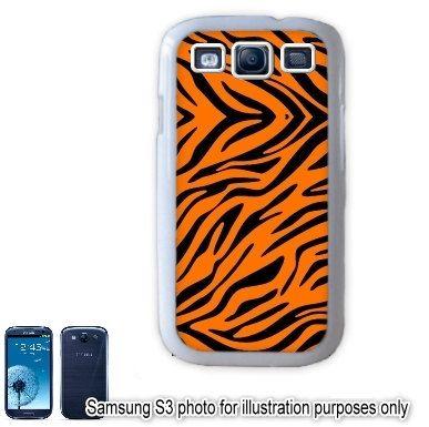 Orange Zebra Animal Print Pattern Samsung Galaxy S3 S III i9300 Case    Orange Zebra Print Pattern