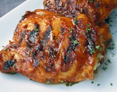 Barbecue Chicken with Mustard Glaze | Dinners | Pinterest