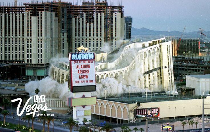 aladdin casino implosion