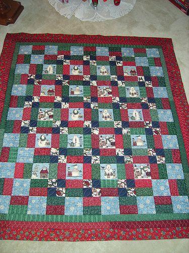 Wedding Gift Quilt : Snowman quilt - wedding gift Quilts 1 Pinterest