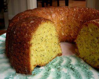 lemon poppyseed bundt cake from a mix | I'd Eat That... | Pinterest