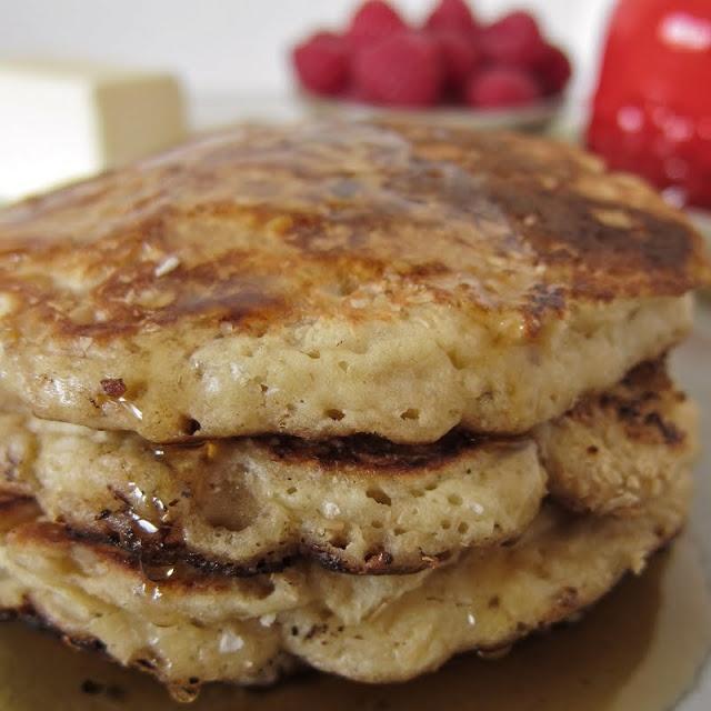 Maple Oat Pancakes | Breakfast N Brunches | Pinterest