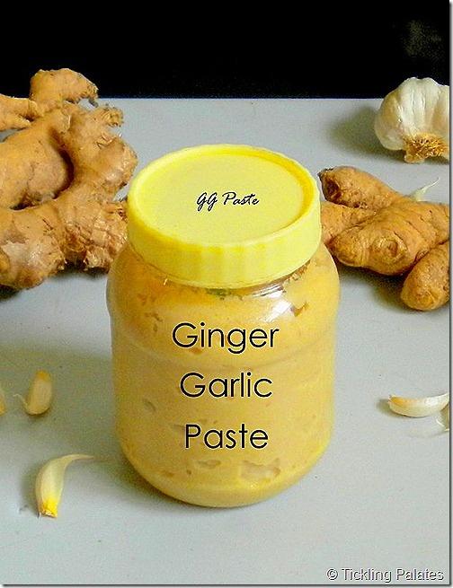 Homemade Ginger & Garlic Paste