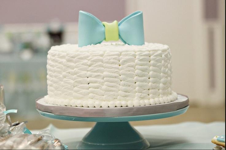 bow tie cake baby shower christening pinterest