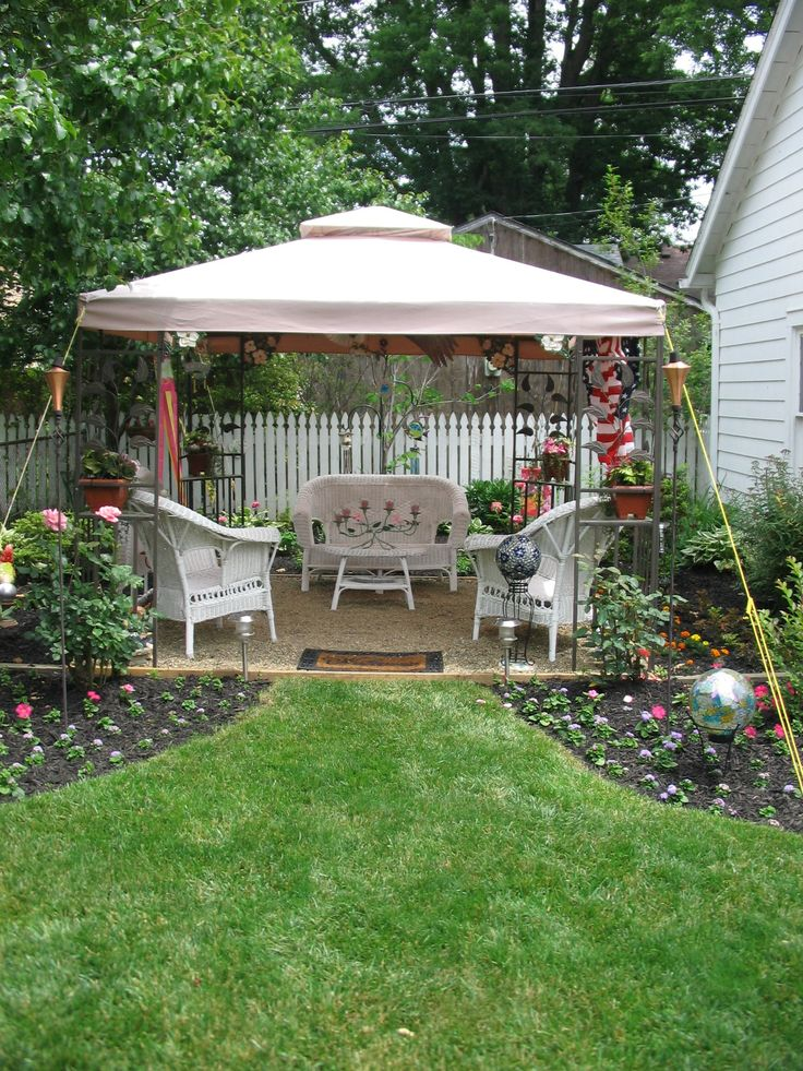 Gazebo ideas for small backyard