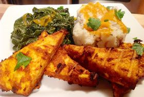 "The ""V"" Word: Tandoori-Style Tofu with Spiced Tomato-Yogurt Sauce"