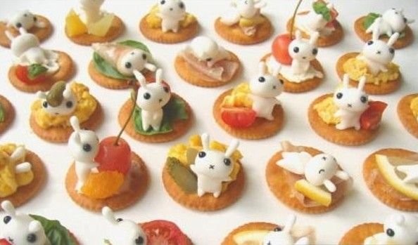 Cutest finger food ever. Possibly my superbowl party food.