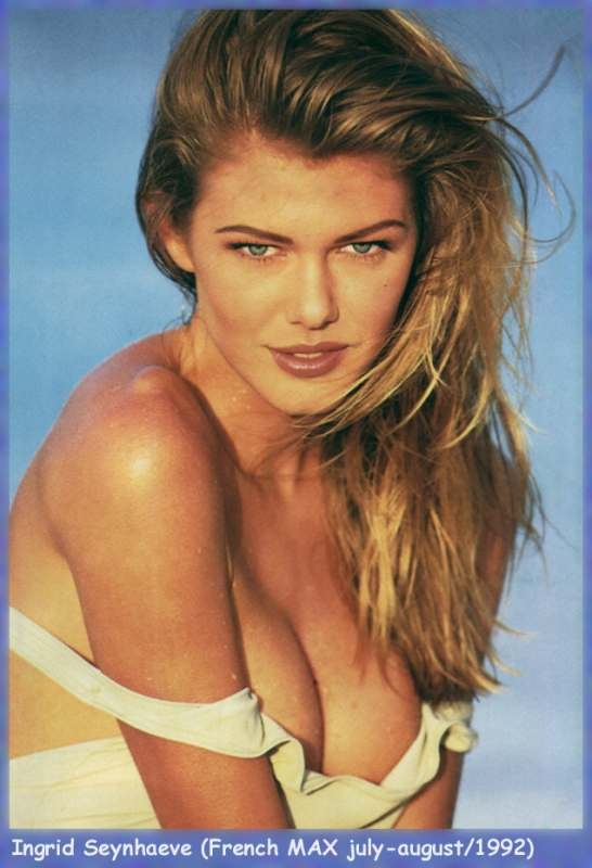 Ingrid Seynhaeve appeared in SI Swimsuit 1993