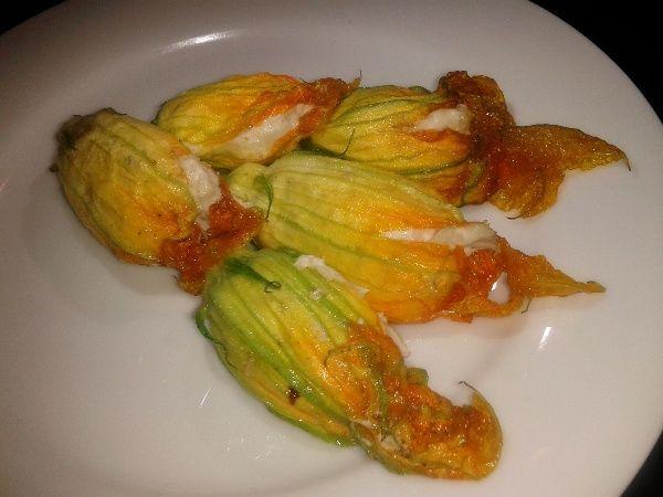 Crab-Stuffed Zucchini Flowers Recipes — Dishmaps