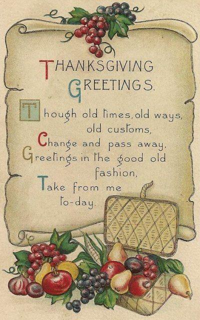 thanksgiving congratulations