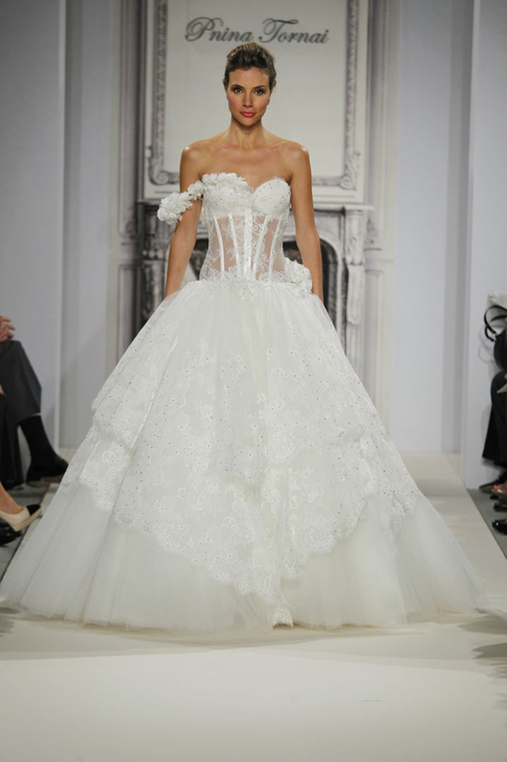 P Tornai Wedding Gowns