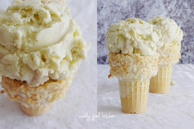 Toasted Coconut Ice Cream | Dessert | Pinterest