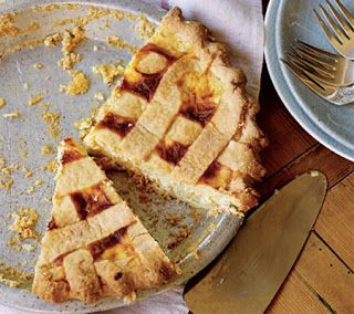 Sweet Ricotta Pie Recipe | Pie Fixes Everything | Pinterest
