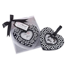 Heart Shaped luggage tag wedding favor Wedding Ideas Pinterest