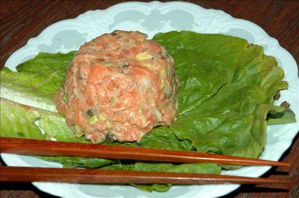 Salmon & Horseradish Tartare   DIY & Crafts & Recipes