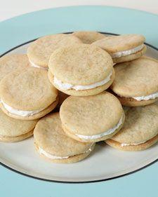 Pink Grapefruit Sandwich Cookies | Cookies {recipes} | Pinterest
