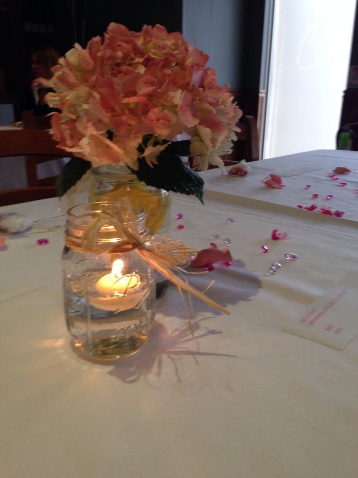 mason jar baby shower centerpieces baby shower ideas pinterest