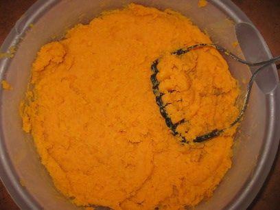 Homemade Sweet Potato Puree. Use like canned pumpkin.