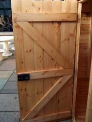 Дверь для сарая деревянная своими руками 257